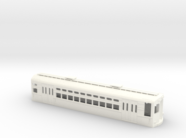 CTA 1-50 Series, Evanston Car 3d printed