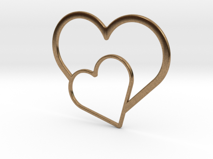 Hearts Necklace / Pendant-03 3d printed