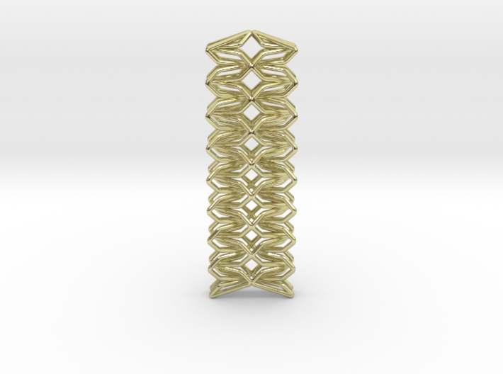 YOUNIC Fabric, Straight Pendant 3d printed