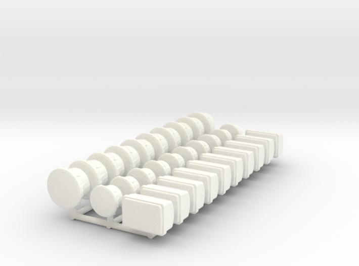 1/24 scale Light Set 3d printed