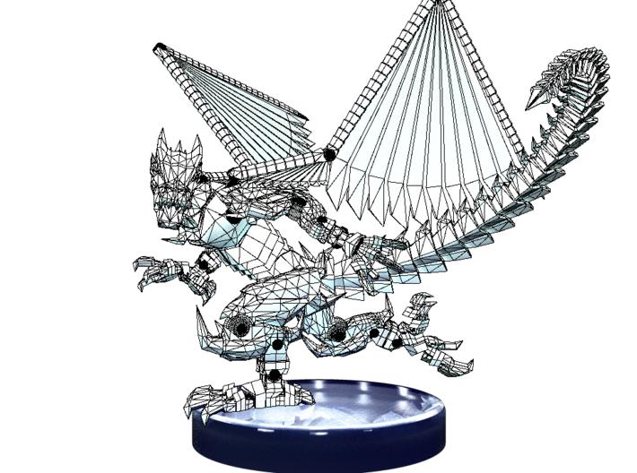 DragonMech 3d printed Contour Render