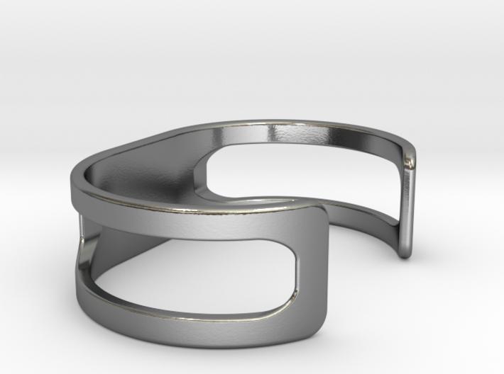 Bracelet, size 4, embossed - 65x35 3d printed