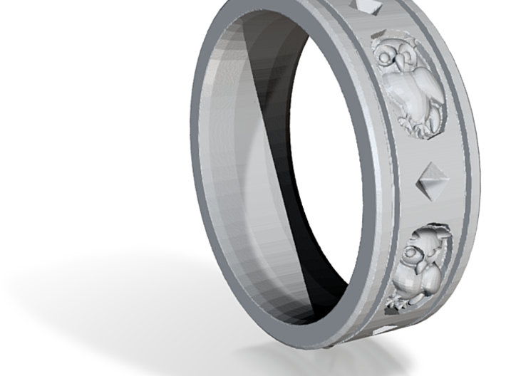Ring Courson-v3.d58 3d printed