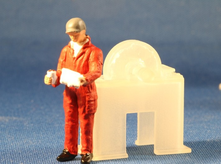 Machine Tools O Scale Master Collection  3d printed