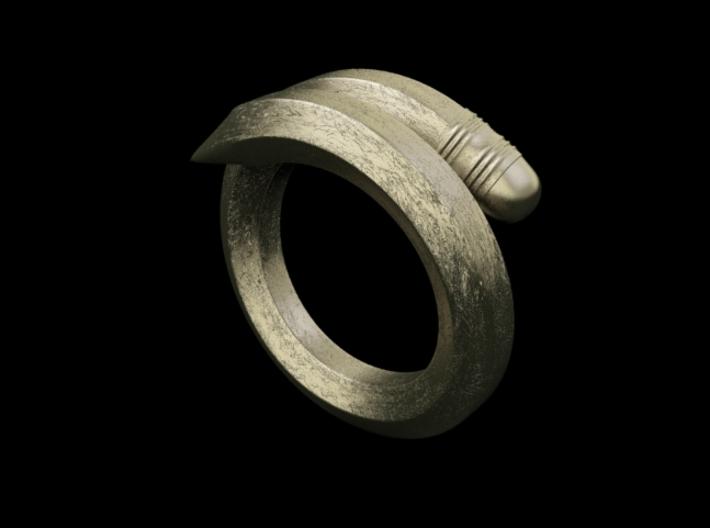 Pencil ring 3d printed Pencil ring render