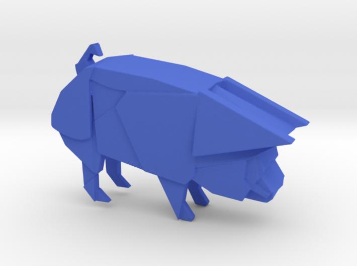Origami Pig 3d printed