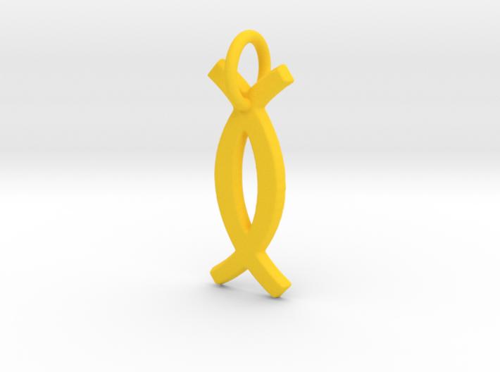 Ujamaa small charm 3d printed