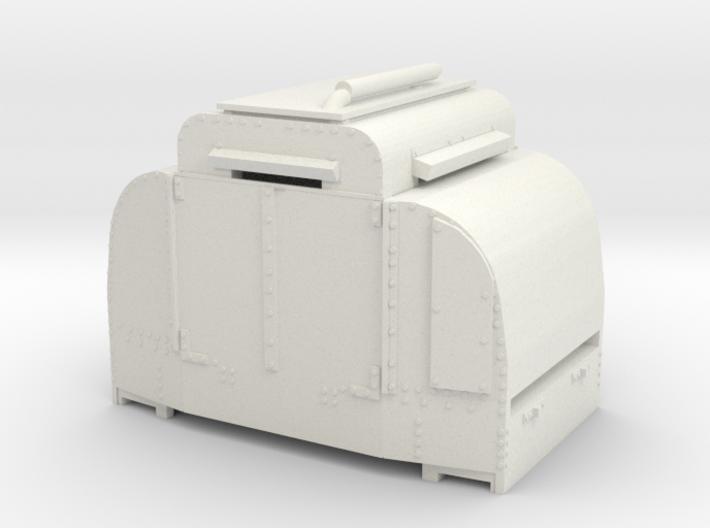 A-1-101-armoured-simplex1 3d printed