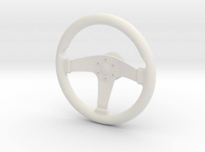 1/6 Scale steering wheel 3d printed
