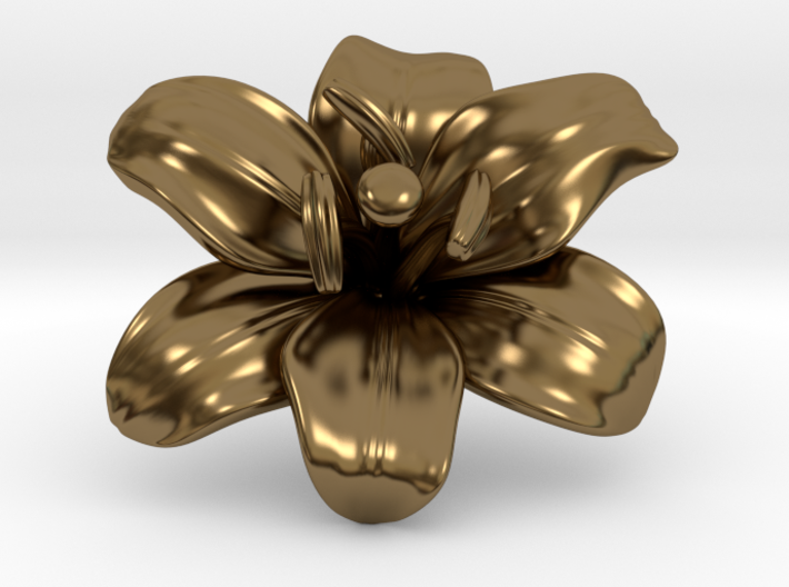 Lily Flower 1 - M 3d printed