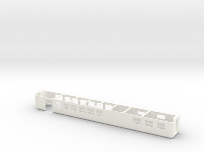 Wagenkasten Speisewagen EW III Scale TT 1/120 1-12 3d printed