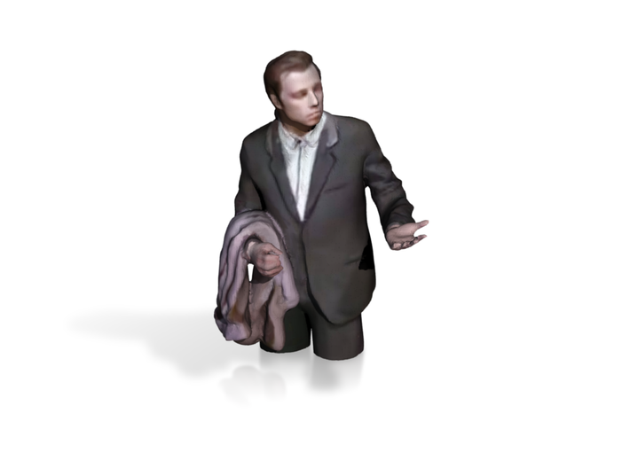 Confused Travolta Meme 3d printed
