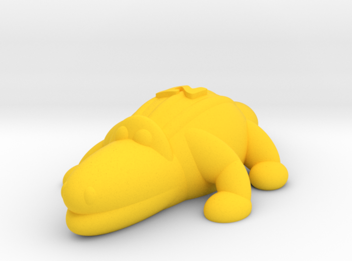 Crocodile (Nikoss'Animals) 3d printed