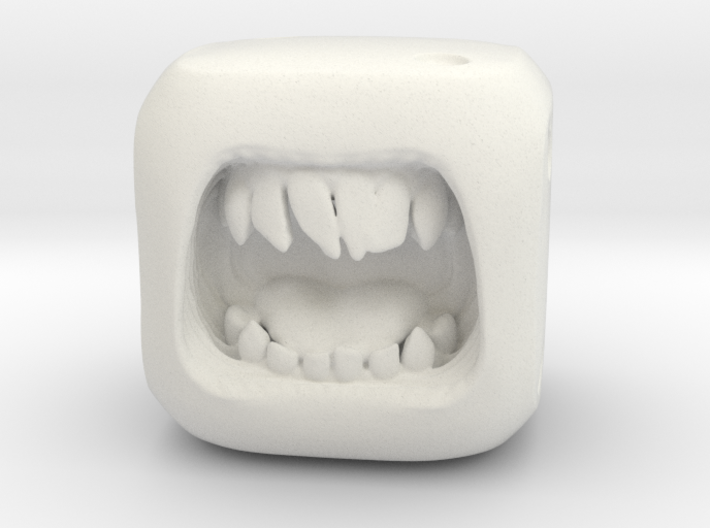 Dice Orc - Monster Dice - 16mm 3d printed