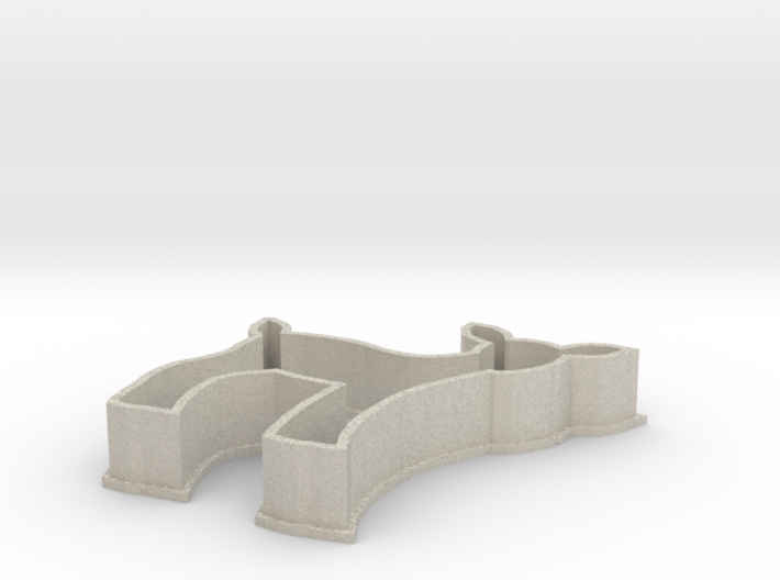 Fawn cookie cutter 3d printed