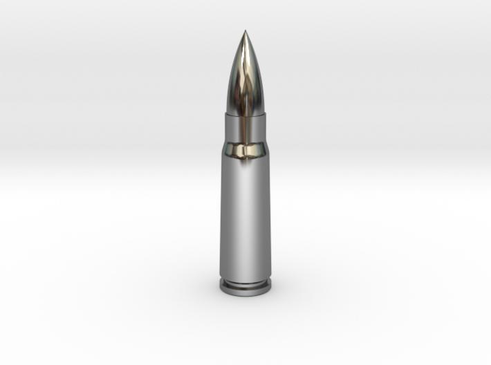 7.62x39 Ammo Blank 3d printed