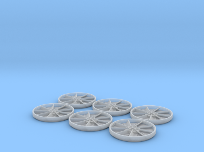YT1300 FM 1/72 ENGINE FANS SET 3d printed