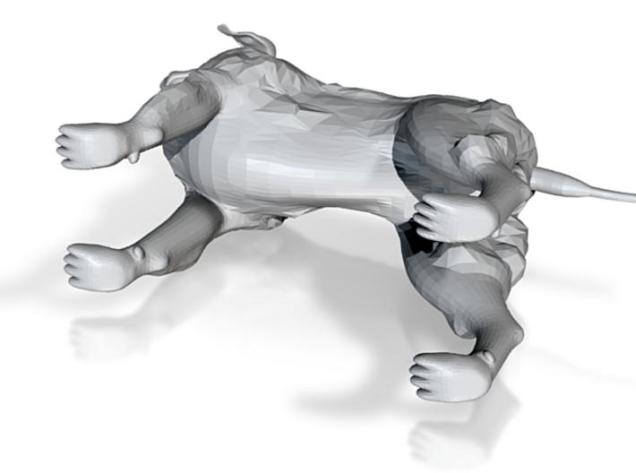 Dog Sculpture 3d printed