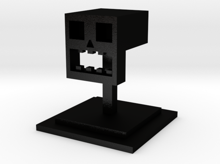 The Cubist Skull 3d printed
