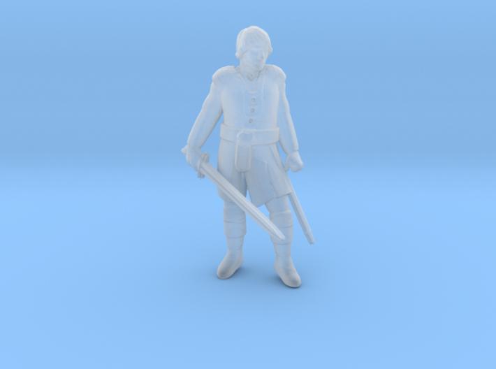 HO Swordsman 3d printed