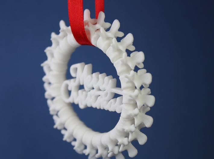 Spine Ornament 3d printed