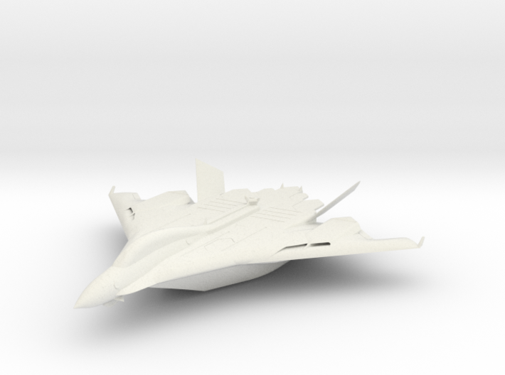 Flight aircraft carrier equipped with the Aegis 3d printed