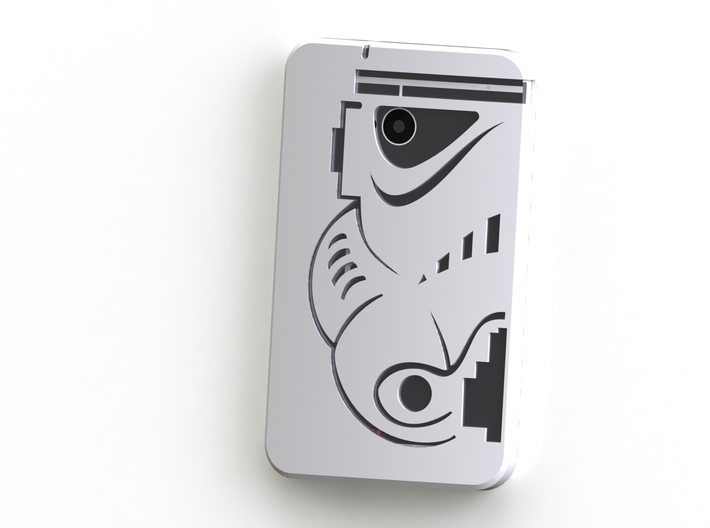 HTC One Case - Stormtrooper (M7) 3d printed