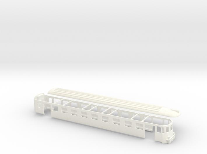 Steuerwagen ABDe MThB Scale TT 1/120 1:120 1-120 3d printed
