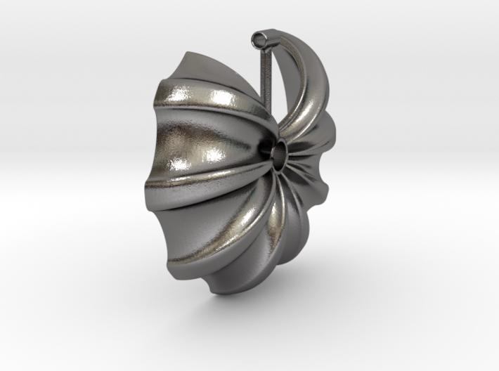 Floral Necklace / Pendant-17 3d printed