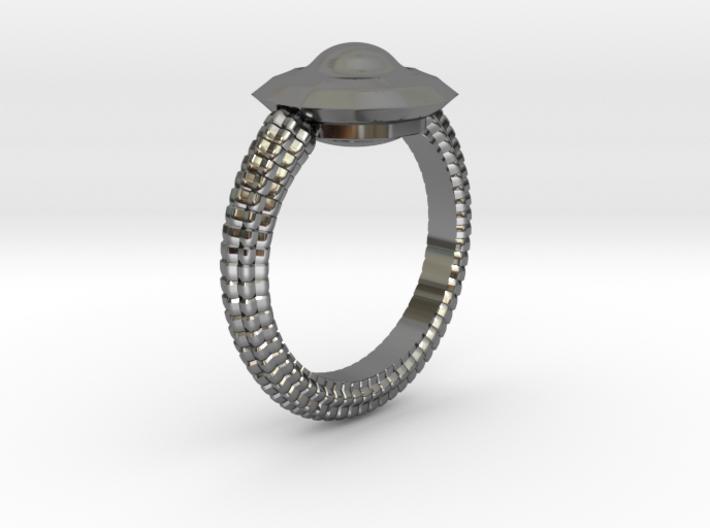 WunderWaffe Ring Alfa Ver2 SIZE10 3d printed