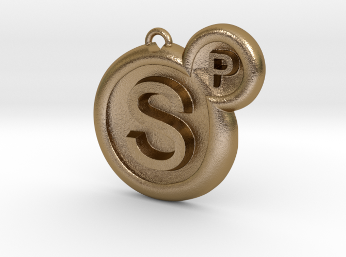 Surreal Products Logo Keychain 3d printed
