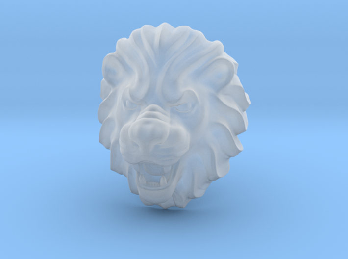 LION RING SIZE 9 1/4 3d printed