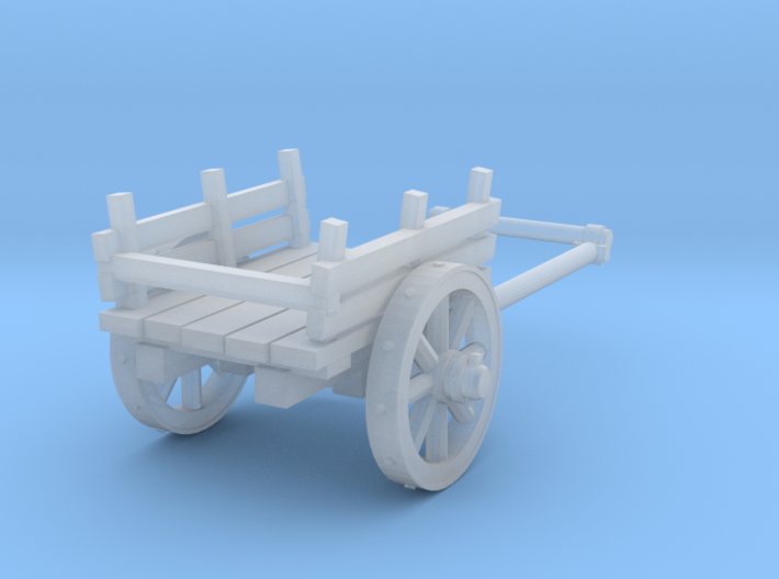 2-wheel cart, 28mm 3d printed
