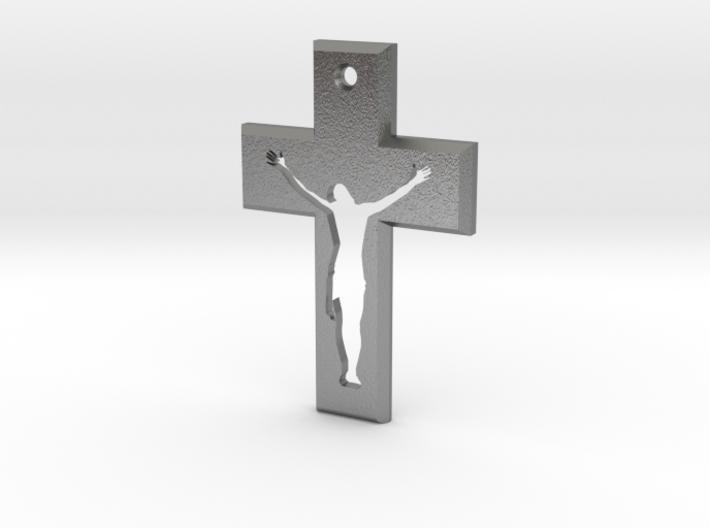Crucifix Beta 3x2cm 3d printed