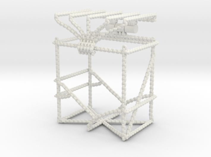Trading Card Deck Box, Chains Design 3d printed