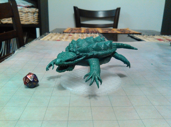 Dragon Turtle 3d printed