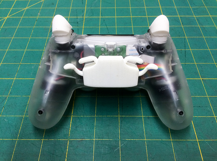 DS4 Face Triggers 3d printed