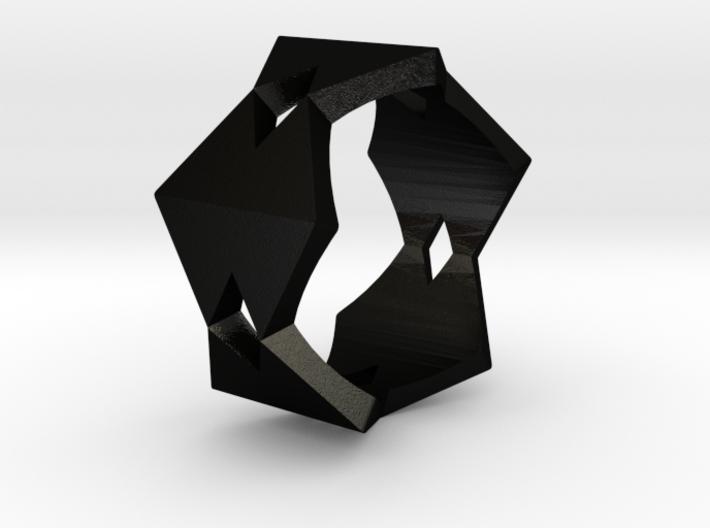 5 Diamantes Ring 3d printed