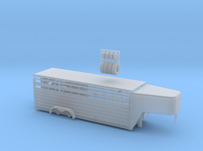1/64 24' Cattle Trailer Slat Style (door on left s 3d printed
