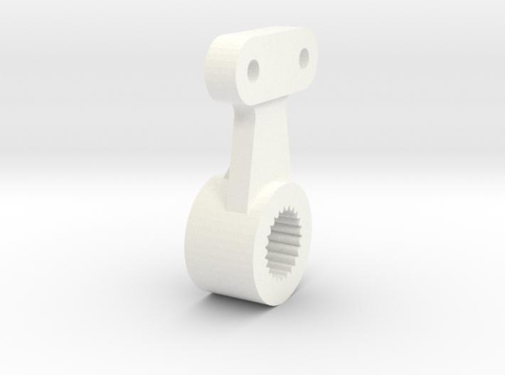 Atomic AMZ 2wd servohorn for metal gear servo 3d printed
