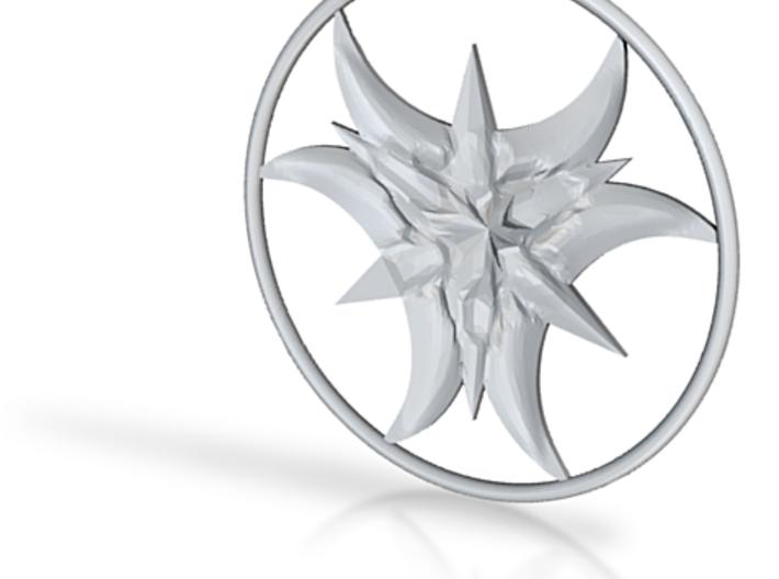 Ishtar-Amulett (mit Ring) 3d printed