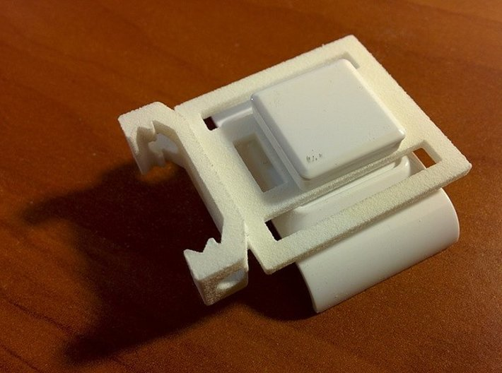 Wearable Camera Picatinny Mount 3d printed