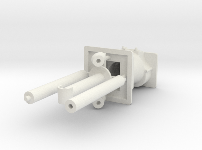 PRR N5b Cabin Car Stove (1:29 Scale) 3d printed