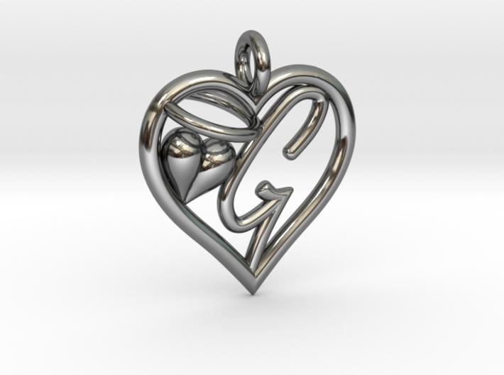 HEART G 3d printed