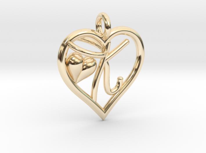 HEART K 3d printed