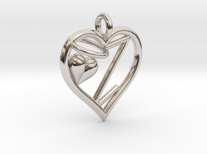HEART Z 3d printed