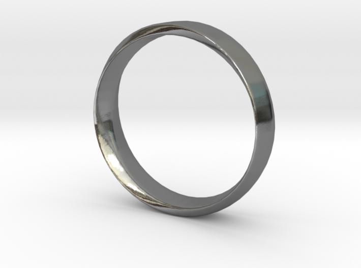 Mobius Ring Plain Size US 9.75 3d printed