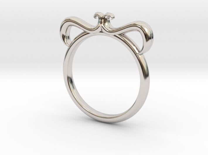 Petal Ring Size 5 3d printed