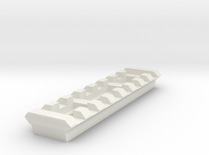 8 Slots Rail (Pre-Drilled) 3d printed