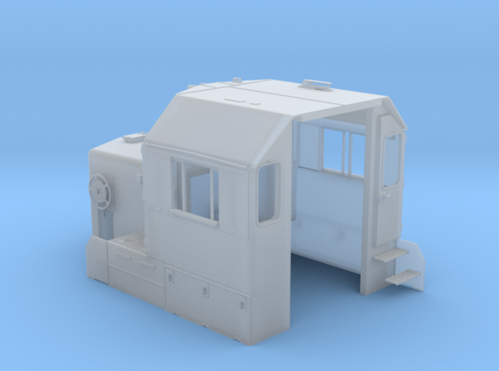 """CA0024 CPR 102"""" SD40-2 Cab, Late, Class Lts """"C"""" 3d printed"""